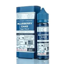 Blueberry Cake Eliquid By Glas Basix 50ml - Valda Vapes