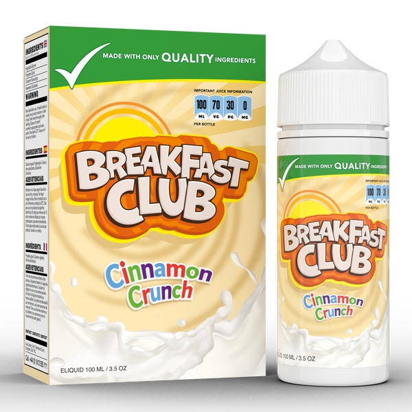 CINNAMON CRUNCH E-LIQUID BY BREAKFAST CLUB