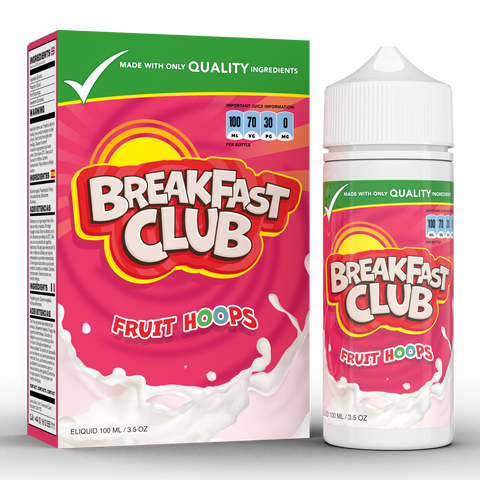 FRUIT LOOPS E-LIQUID BY BREAKFAST CLUB