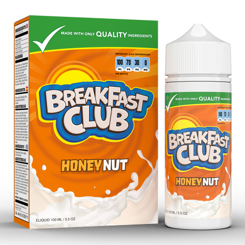 HONEY NUT E-LIQUID BY BREAKFAST CLUB