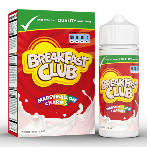 MARSHMALLOW CHARMS E-LIQUID BY BREAKFAST CLUB