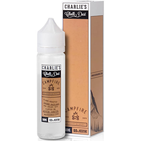 Campfire Eliquid By Charlie'S Chalk Dust Campfire - Valda Vapes