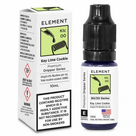 Key Lime Cookie Dripper E-liquid By Elements