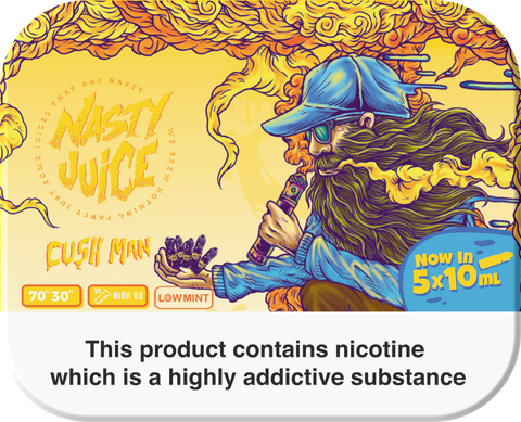 CUSH MAN E-LIQUID BY NASTY