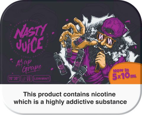 GRAPE E-LIQUID BY NASTY