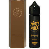 Bronze Blend Eliquid By Nasty Juice Tobacco