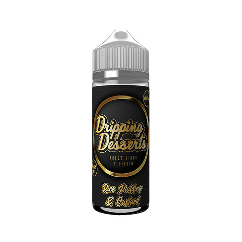 RICE PUDDING & CUSTARD E-LIQUID BY DRIPPING DESSERTS