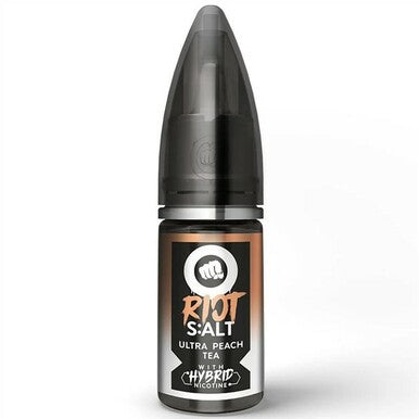 ULTRA PEACH TEA NIC SALT E-LIQUID BY RIOT SQUAD