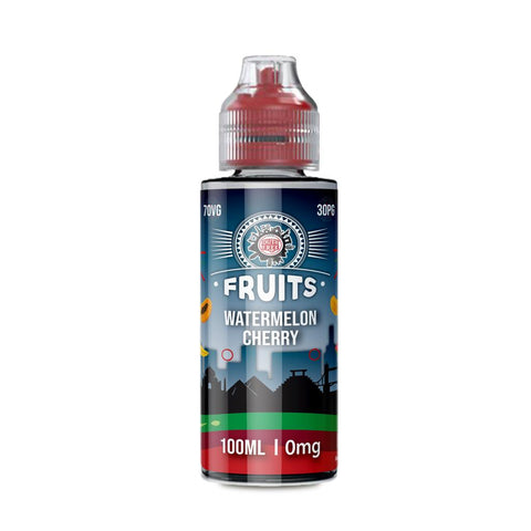 WATERMELON CHERRY E-LIQUID BY DUTY FREE FRUITS