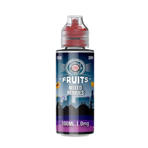MIXED BERRIES E-LIQUID BY DUTY FREE FRUITS