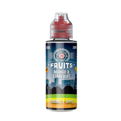 MANGO & STARFRUIT E-LIQUID BY DUTY FREE FRUITS