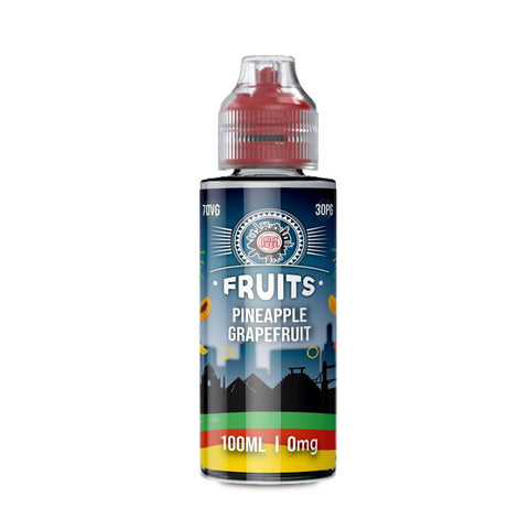 PINEAPPLE GRAPEFRUIT E-LIQUID BY DUTY FREE FRUITS
