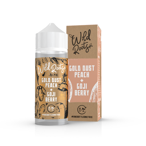 GOLD DUST PEACH E-LIQUID BY WILD ROOTS