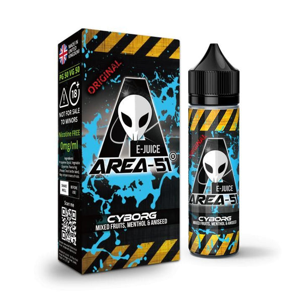 CYBORG E-LIQUID BY AREA-51