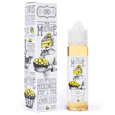 Mr. Meringue Eliquid By Charlie'S Chalk Dust Mr. Merigue - Valda Vapes