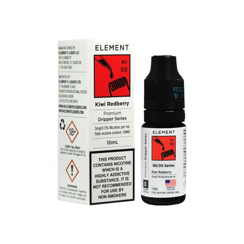 Kiwi Redberry Dripper E-liquid By Elements