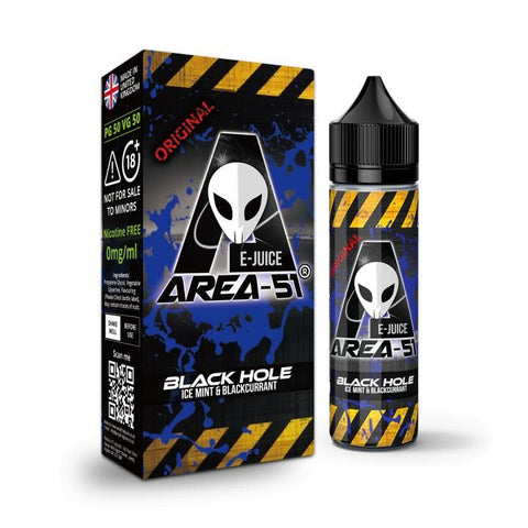BLACK HOLE E-LIQUID BY AREA-51
