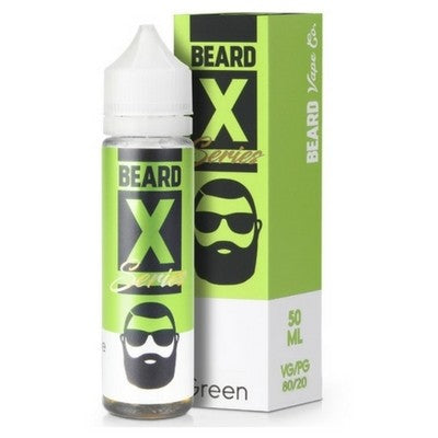 GREEN E-LIQUID BY BEARD COLOURS 50ML - Valda Vapes