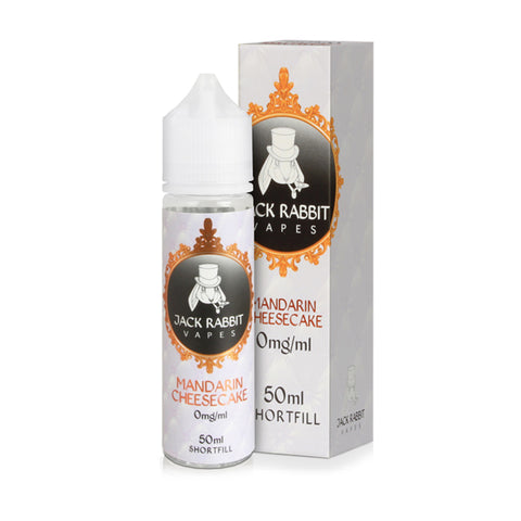 Mandarin Cheesecake 50ml Shortfill E-Liquid By Jack Rabbit - Valda Vapes