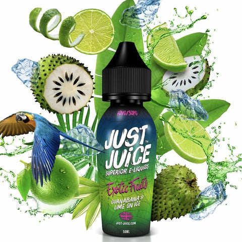 GUANABANA & LIME E-LIQUID BY JUST JUICE
