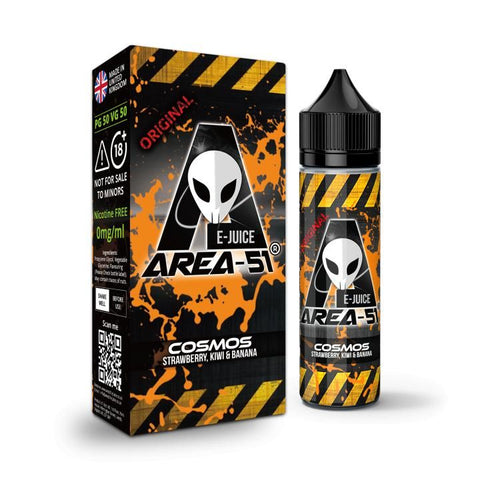 COSMOS E-LIQUID BY AREA-51