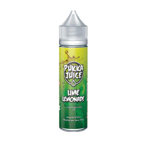 LIME LEMONADE E-LIQUID BY PUKKA