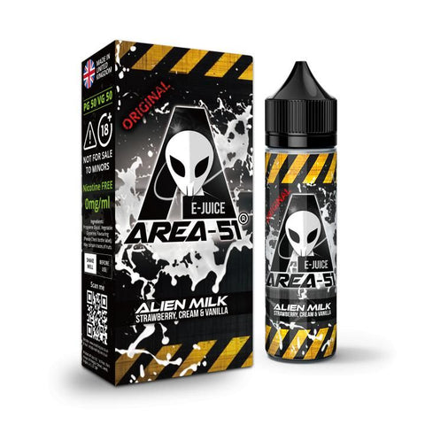 ALIEN MILK E-LIQUID BY AREA-51