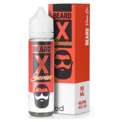 RED E-LIQUID BY BEARD COLOURS 50ML - Valda Vapes