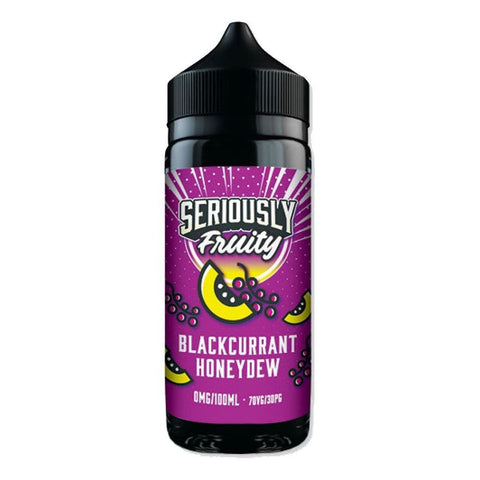BLACKCURRANT HONEYDEW E-LIQUID BY SERIOUSLY FRUITY