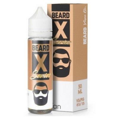 TAN E-LIQUID BY BEARD COLOURS 50ML - Valda Vapes