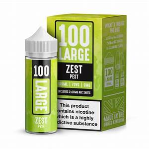 ZEST PEST E-LIQUID BY 100 LARGE 100ML