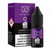 SUMMER SYRUP NIC SALT E-LIQUID BY POD SALT & EVIL CLOUD