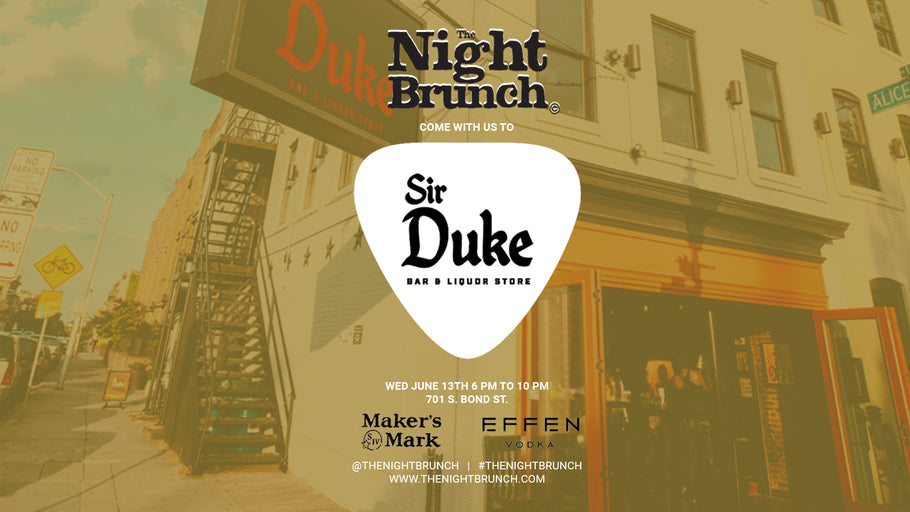 The Night Brunch at Sir Duke - Pictures