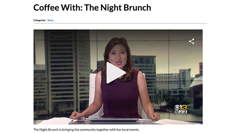 The Night Brunch Interview with WJZ Baltimore