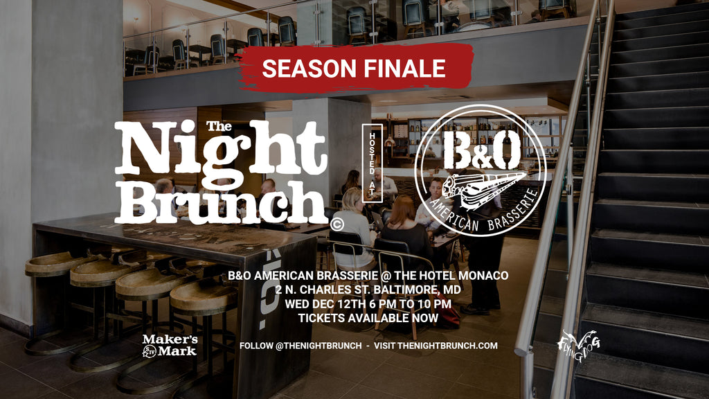The Night Brunch at B&O American Brasserie Baltimore