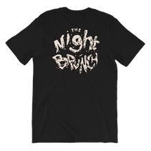 Night Brunch Spilled Logo Tee Back