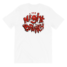 The Night Brunch - Spilled Logo Tee (Ketchup)
