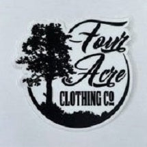 Four Acre Clothing Co. Sticker