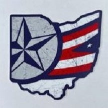 CBJ Stars & Stripes Sticker