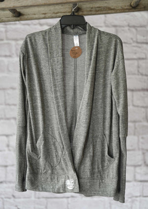 Cardigan with Thumbholes