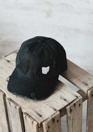 Ohio Dad Hat || Black