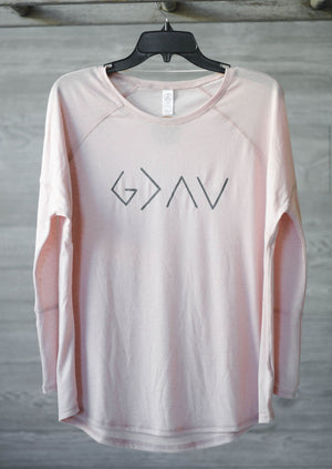 God is greater  || Long Sleeve