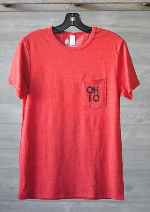 OHIO Stacked Pocket Tee