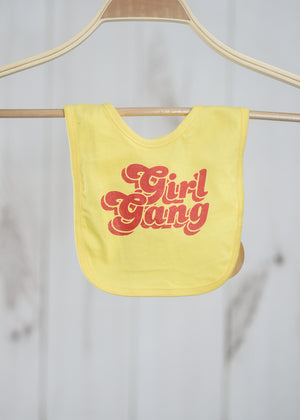 Girl Gang Bib