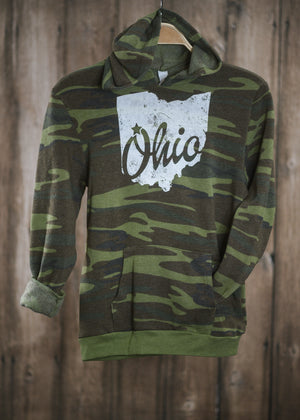 Ohio Star Camo Youth Hoodie