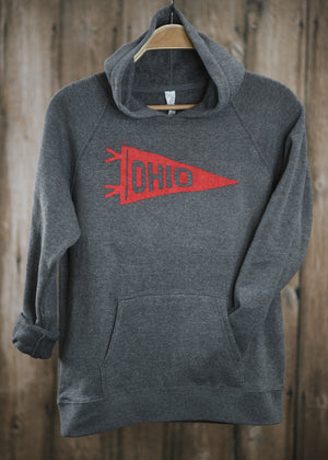 Ohio Pennant Youth Hoodie