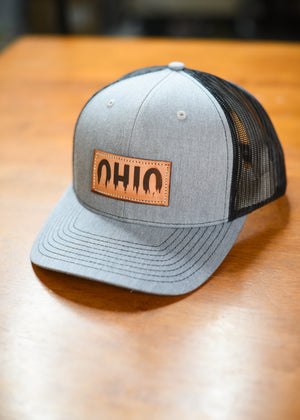 Leather Ohio Pine Hat