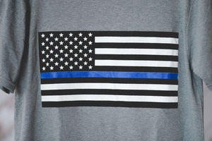 Thin Blue Line Of Support