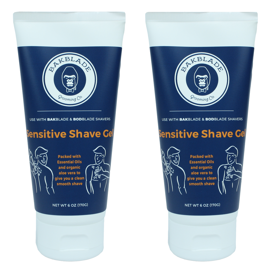 SENSITIVE SHAVE GEL 2PAK