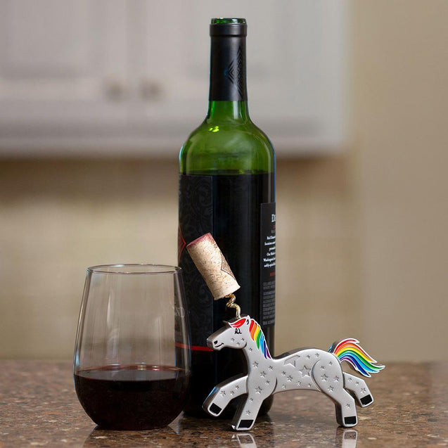 cute corkscrew wine opener girly bottle opener unicorn kitchenware